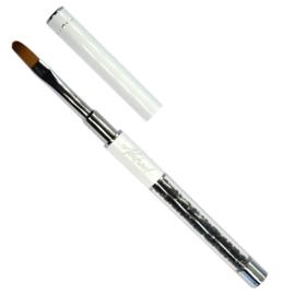#8 Oval Gel Brush Abstract Deluxe penseel
