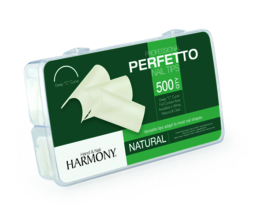 Perfetto Natural Nail Tips 500pcs/box | Harmony