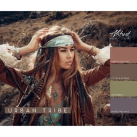 Urban Tribe Collection | Abstract Brush N' Color