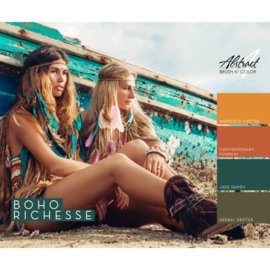 Boho Richesse Collection | Abstract Brush N Color