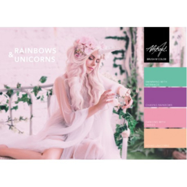 Rainbows & Unicorns Collection | Abstract