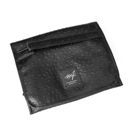 Brush & File Bag OSTRICH BLACK | Abstract