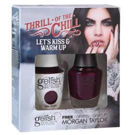 TOAK Let's Kiss & Warm Up   Gelish & FREE Morgan Taylor