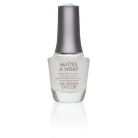 Mattes A Wrap 15ml | Morgan Taylor