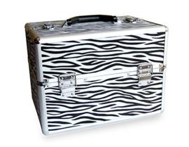 Koffer zebra