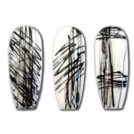 Elastic Art Gel WHITE 5gr   Abstract