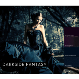 Darkside Fantasy Collection | Abstract Brush N' Color