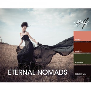 Eternal Nomads Collection/ Abstract Brush N Color