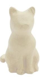 Kat,  zittend, sa216