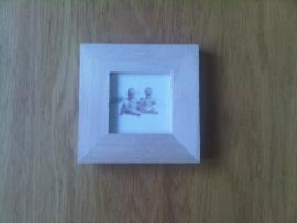Fotolijst, 10 x 10 cm