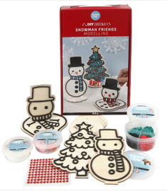 Sneeuwpoppenenkerstboom DIY Pakket FoamClay