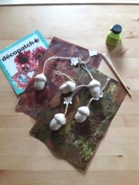 Eikel pakket DIY Décopatch