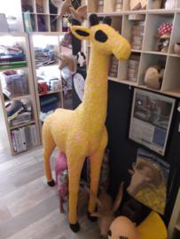 Giraffe XXL, XLA01, gepimpt met FoamClay