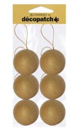 Kertsballen, NO006,  6 stuks