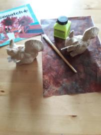 Eekhoorn pakket DIY Décopatch