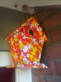 Vogelhuizje, puzzel