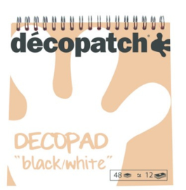 Decopad 'black and white'