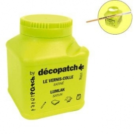 Decopad starter set minivellen inclusief lijm en kwast