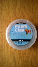 Foam Clay 35 gr zilver