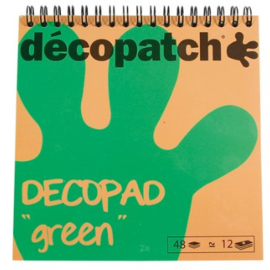 Decopad 'green' minivellen