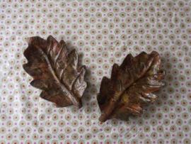 Herfstbladeren set van 2