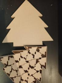 Kerstboomdoosgroot