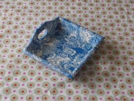 Dienblad, Delftsblauw klein