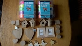 Foam Clay Mega knutsel pakket