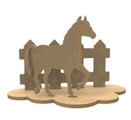 Paard MDF