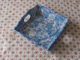 Dienblad, Delftsblauw middel