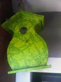 Vogelhuisje, groen