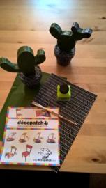 Decopatch, DIY pakket cactussen