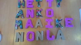 Letters 10 cm actie tot 1 november