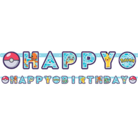 Pokemon Slinger Happy Birthday