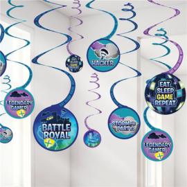 Royal Battle Fortnite swirl hang decoratie