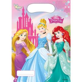 Disney Prinses uitdeelzakjes - 6 stuks