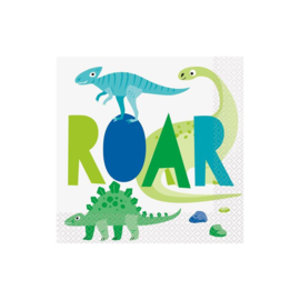 Dino ROAR servetjes