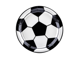 Bordjes voetbal motief - 6 stuks
