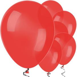 Ballonnen rood - 10 stuks