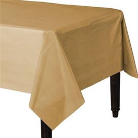 Tafelkleed goud kleurig