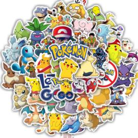 Pokemon stickers - 6 stuks
