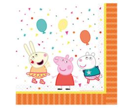 Peppa Pig  feest servetten