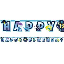 Jumbo Letter banner Happy Birthday Battle Royal Fortnite