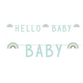 "Letterslinger Rainbow ""Hello Baby"""