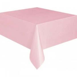 Tafelkleed licht roze