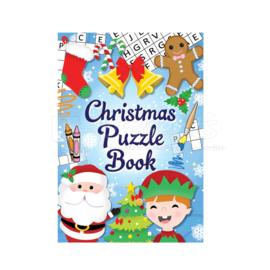 Kerst puzzelboekje
