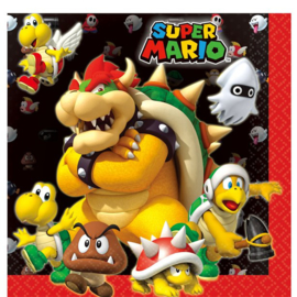 Super Mario servetjes