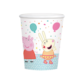 Peppa Pig  Party drinkbekertjes - 8 stuks