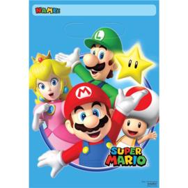 Super Mario uitdeel zakjes 8 stuks