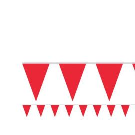 Vlaggenlijn rood 4,5 meter